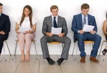 candidates waiting for their term for interview