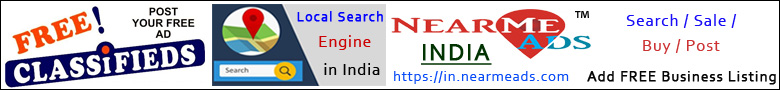 Near Me Ads India - Local Classifieds Web Portal