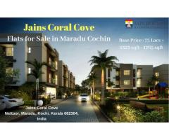 APARTMENTS FOR SALE IN MARADU | VILLAS FOR SALE IN MARADU COCHIN, KERALA