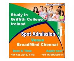 Spot Admission to Study in Ireland and Cyprus