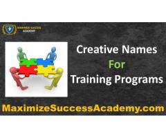 Creative coaching - Maximize Success Academy