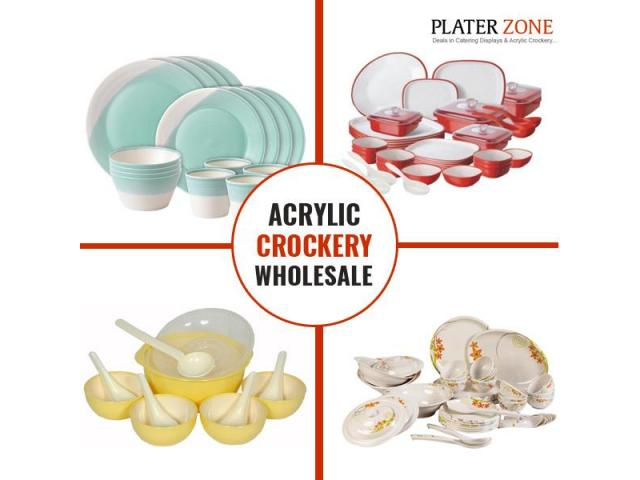 Trusted Acrylic Crockery Wholesale Supplier