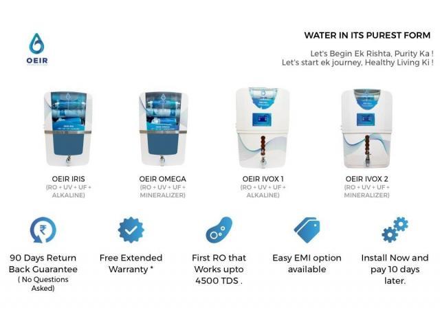 New Water Purifier in NCR + Warranty, Service, Installation