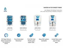 New Water Purifier in NCR + Warranty, Service, Installation