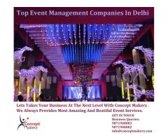 Event Management Companies - Concept Makerz