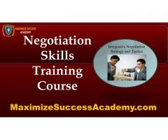 advanced negotiation training