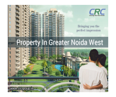 Property in greater noida west CRC Sublimis