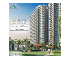 Property in noida extension Sublimis-CRC Group