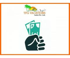 Income Opportunity For All& Everyone in Tourism Company TFG Vacations Pvt.Ltd.(ISO-9001-2008)