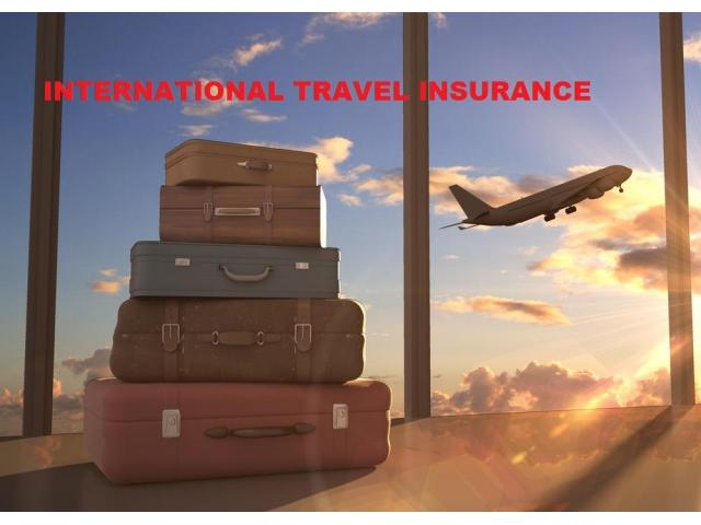 Get The International Travel Insurance Plan