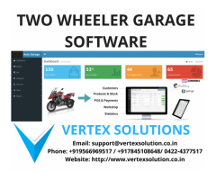 Scale your Two wheeler service station Business with our incredible Software
