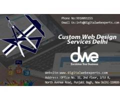 Custom Web Design Services Delhi