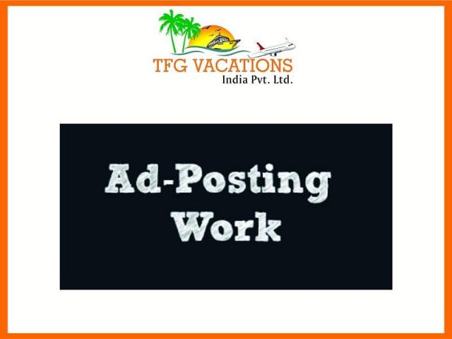 Part Time Work ***-A leading Tour & Travel Company