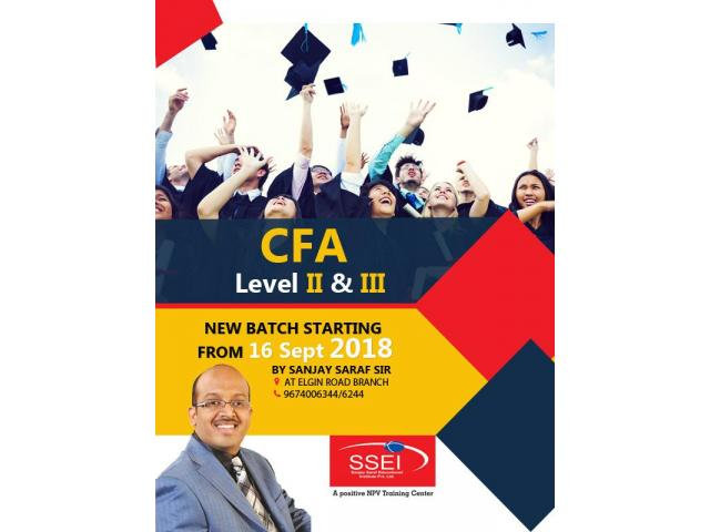 CFA Level II & III New Batch