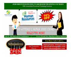 HR Practical Training In Delhi with The Best Professionals Is Here