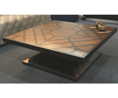 Dawn Inlay Coffee Table by LivingSpace, India