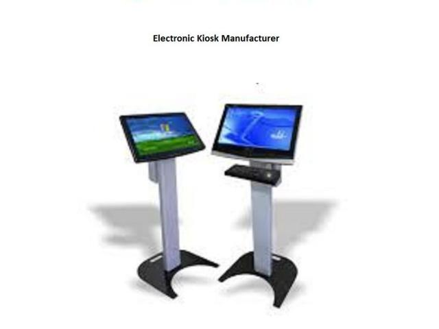 Reliable Electronic Kiosks Supplier in Delhi