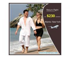 Cheap air tickets | Atlanta- New York | CAD $230 Onwards