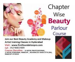 Best Professional Makeup studio, Hair Styling Academy Courses  in Hyderabad-firstfoundationpro