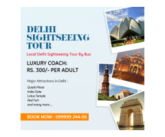 Trusted Delhi Sightseeing Tour Services in Delhi