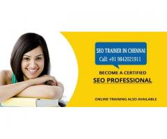 Top SEO Training Centers in Chennai - 9842021911