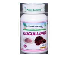 Herbal Remedy for High Cholesterol - Gugulipid Capsules
