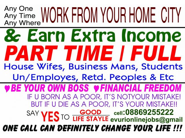 Work from home and earn a minimum of ten thousand. Just contact us
