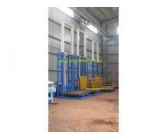 Hydraulic Goods Lift Manufacturers in Coimbatore, Tamilnadu.