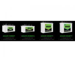 Amaze India Launched New Tubular Battery Products