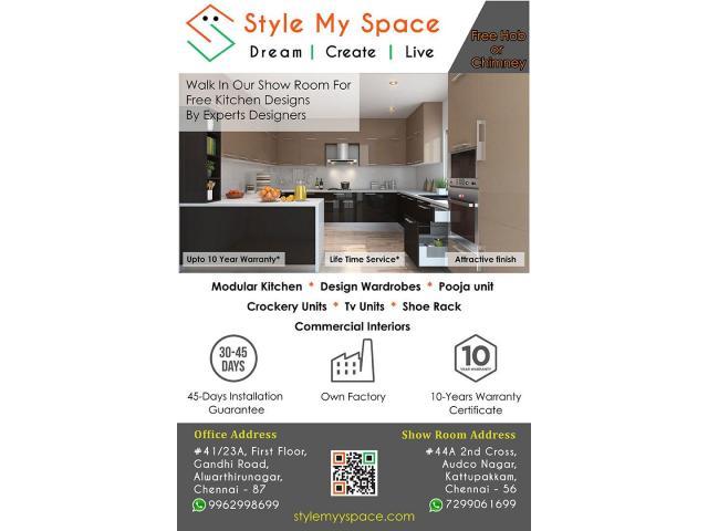Style My Space Modular Kitchen Interior