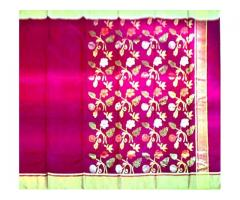 Designer Chanderi Saree At Jain Chanderiwala