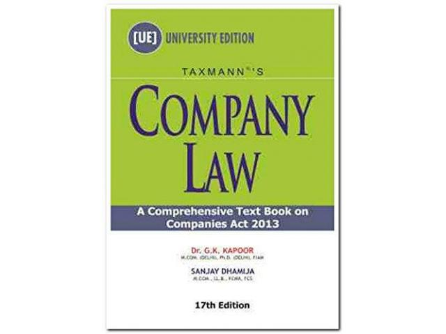 Buy Company Law Books Online in India