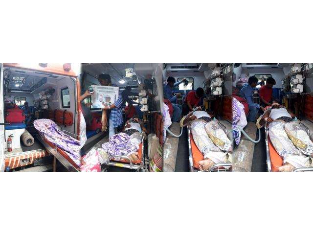 Low Cost Train Ambulance Service In Patna