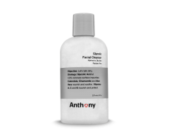 Anthony makes available glycolic facial cleansers specially formulated for men