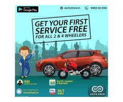 Car and Bike Repair Service Center in Jubilee Hills, Hyderabad - Autoshed