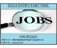 Online/ Offline Data Entry Job.