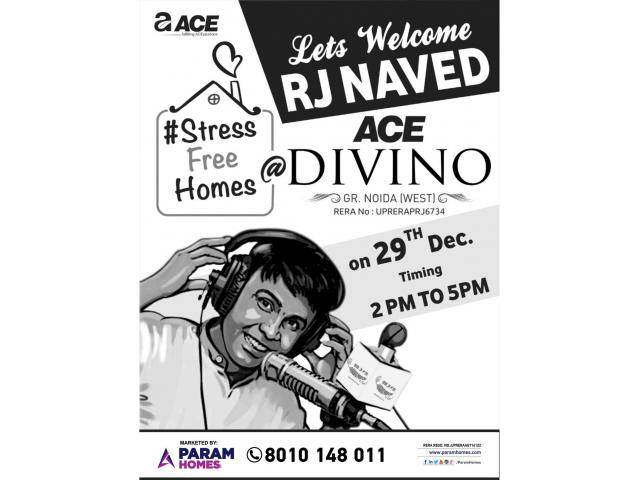 Lets Welcome RJ NAVED, ACE Divino