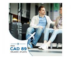 Return Flight Orlando- Atlanta CAD $89 Onwards