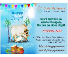 Wish You Happy Pongal !!!  Style My Space Modular Kitchen Interior