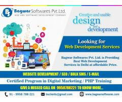 Get Best web Development services at affordable price by Bagwarsoftwares