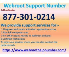 Webroot Support  Number 877-301-0214 In 24 hours open for the webroot users