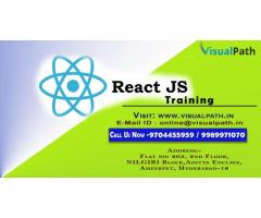 React JS Training Institute in Hyderabad | Best React JS Training Classes