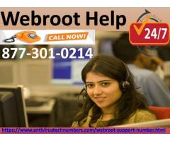 Webroot Help Via USA Number Toll Free Number 1-877-301-0214