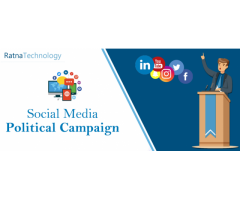 Gain a Strong Online Foothold with Digital Marketing Service for Political Campaigns India