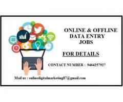 Good salary for good accuracy-data entry home based jobs