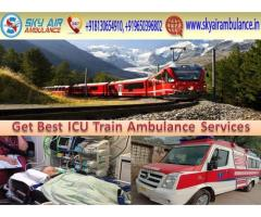 Get Emergency Sky Train Ambulance Service in Patna at the Low-Cost