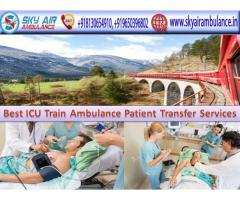 Get Sky Train Ambulance Service in Mumbai with Complete ICU facilities