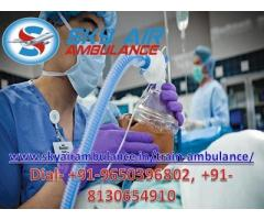Get Best and Affordable Train Ambulance Service in Siliguri with ICU Setup
