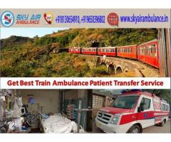 Get Affordable Train Ambulance Service in Indore by Sky Train Ambulance