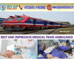 Get Sky Train Ambulance Service in Jabalpur for Reliable Patient Transfer